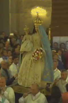 TV 2000 trasmette video madonna del Rosario 2018